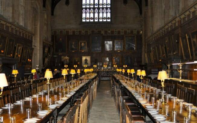 A Universidade de Oxford representa a Hogwarts da vida real