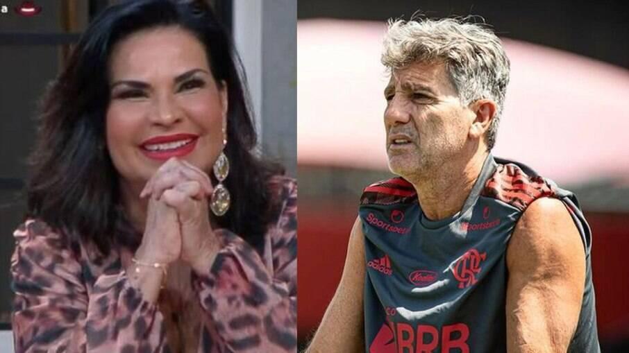 Solange Gomes quer ser chamada de ex de Renato Gaúcho