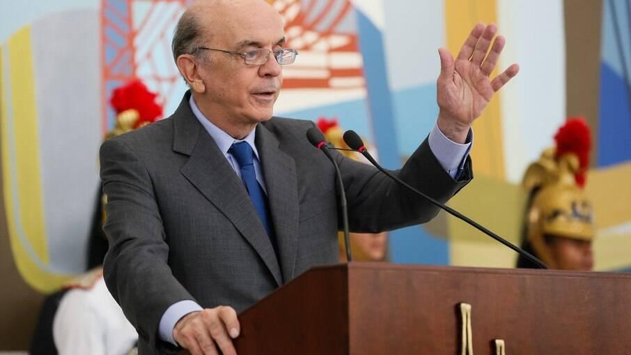 O senador e ex-ministro José Serra