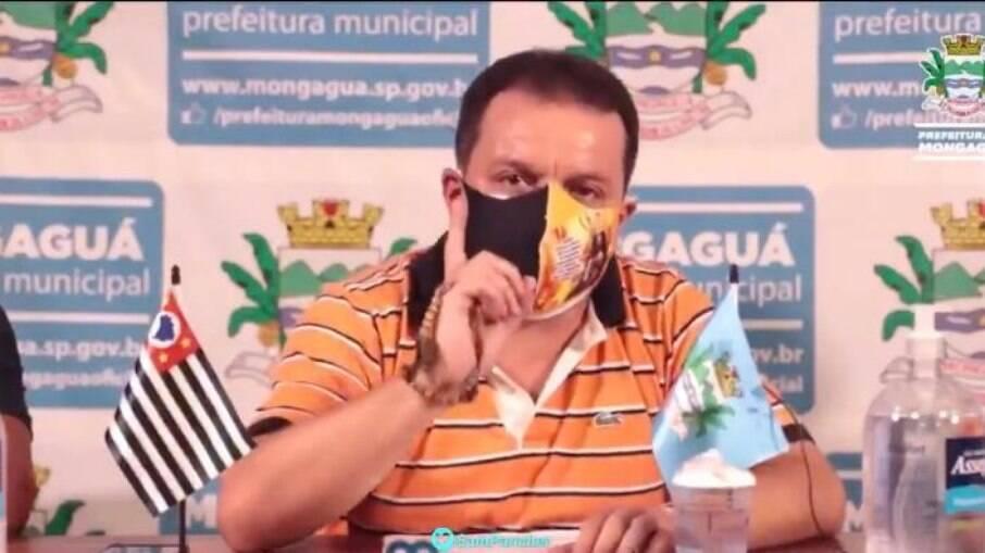 Prefeito de Moganguá, Márcio Melo Gomes