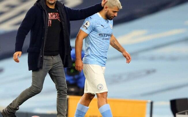Guardiola e Agüero