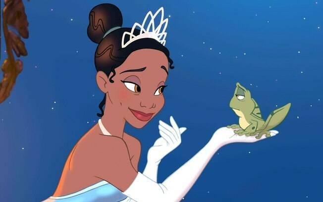 Tiana foi a primeira princesa negra a protagonizar um filme da disney, a animação