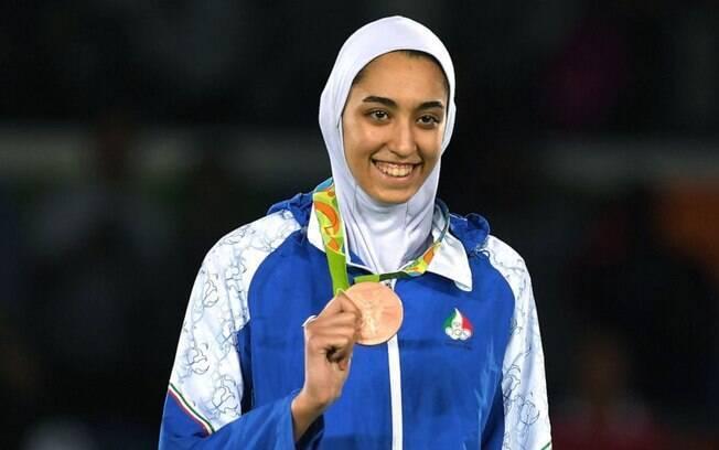 Kimia Alizadeh, medalhista olímpica pelo Irã