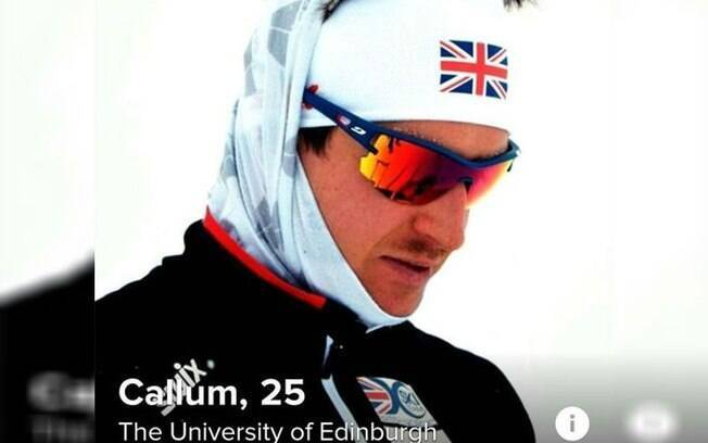 Callum Smith, atleta da Grã-Bretanha de Cross-Country Skiing