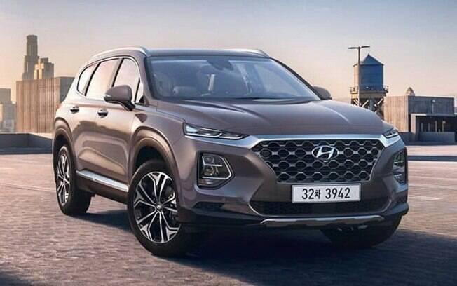 Hyundai Santa Fe 2019: nova geração do SUV logo deverá ser vendida no Brasil, onde já foi flagrada em testes