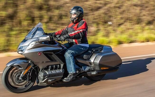 Honda Gold Wing a caminho de Tiradentes, em Minas Gerais, onde aconteceu a edição número 27 da Bike Fest