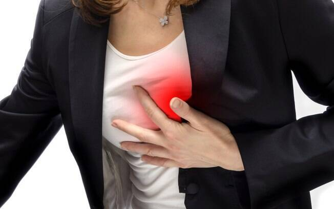 Palpitações são um alerta para procurar um médico. Foto: Getty Images