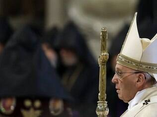 Papa lembrou de genocídios recentes