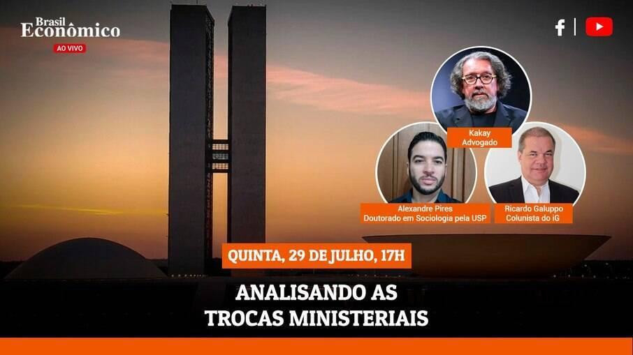 Live Brasil Econômico desta quinta-feira (29)