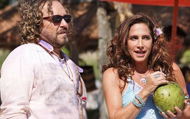 Álvaro e Zambeze, o casal hippie da novela das nove