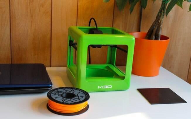 Micro, impressora 3D em formato de cubo, está em campanha de financiamento no site Kickstarter