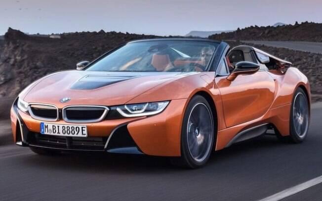 BMW i8 Roadster certamente será admirado no Salão do Automóvel, por seu arrojo e tecnologia de ponta