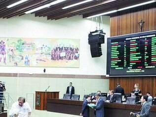 Votação. Nesta quarta o plenário da Câmara de Belo Horizonte manteve um veto do prefeito Marcio Lacerda