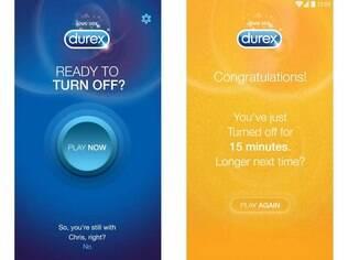 Durex Connect é aplicativo que sincroniza e adormece os celulares do casal para incentivar maior conexão real entre as pessoas. Disponível para Android e iOS