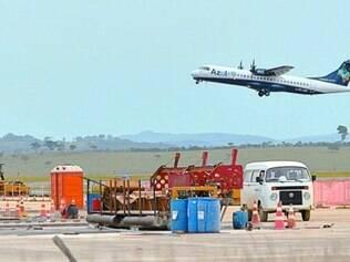 Ampliação da pista do aeroporto de Confins foi contratada por RDC