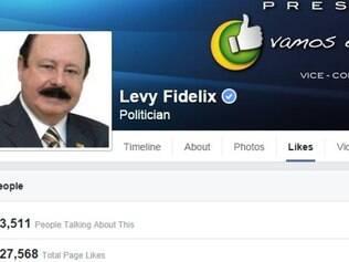 Página de Levy Fidélix teve um aumento grande após sua declaração em debate