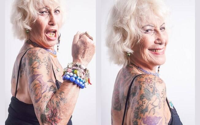 Judith frequenta baladas de punk rock e samba, mas o ritmo preferido é o sertanejo