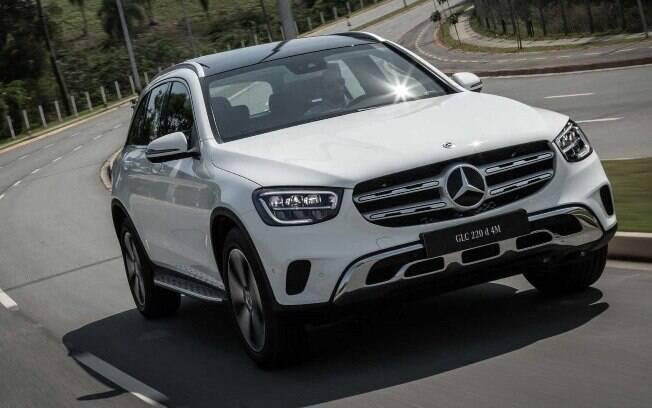 Mercedes GLC 220d tem mais autonomia na estrada entre as vantagens na comparação com as versões movidas a gasolina