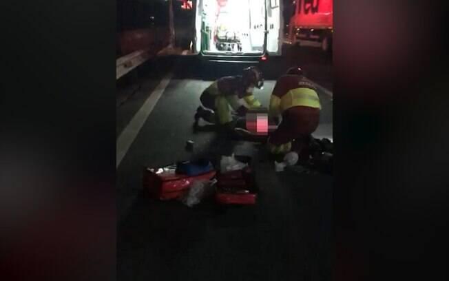Pedestre morre aps ser atropelado na Anhanguera, em Sumar