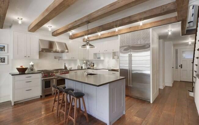 Mansão de famoso: detalhe da cozinha da casa de Bradley Cooper