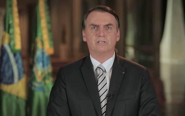 Em pronunciamento, Bolsonaro afirmou que direitos dos já aposentados estão garantidos pelas regras atuais  mesmo em caso de aprovação da nova Previdência