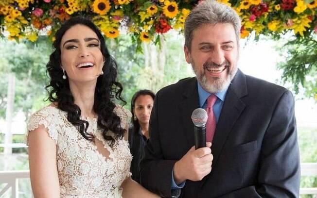 Cristiane Machado e Sérgio