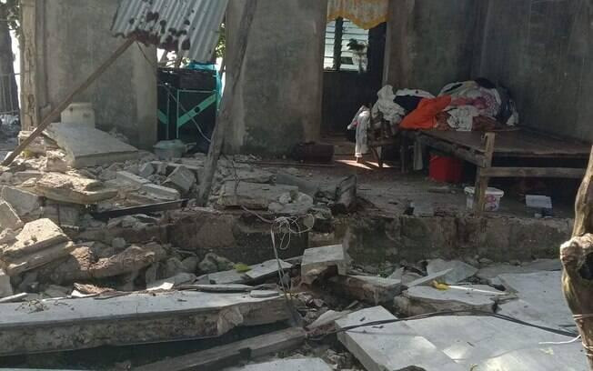 Terremoto de magnitude 6.6 atingiu as Filipinas.
