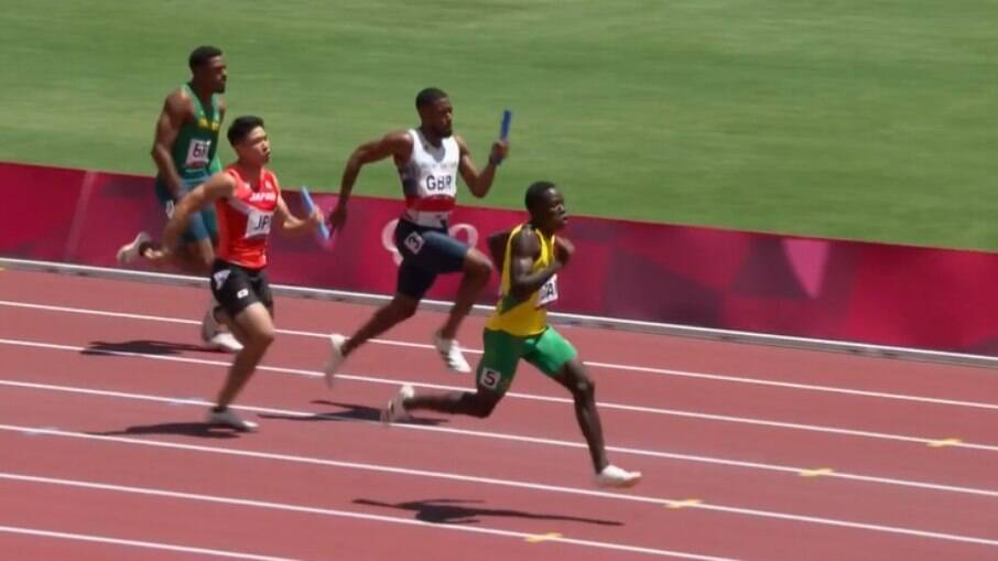 Equipe brasileira masculina não se classificou para a final do revezamento 4x100m