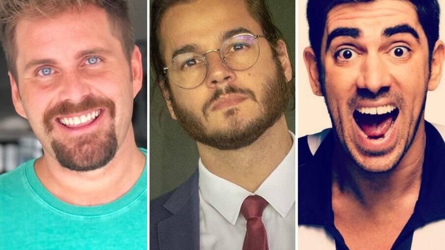 Thiago Gagliasso, Túlio Gadelha e Marcelo Adnet