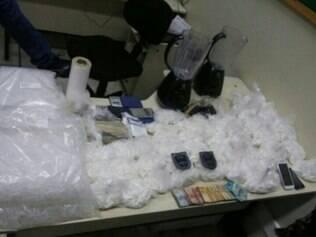 Nove pessoas de uma mesma família foram presas por tráfico de drogas