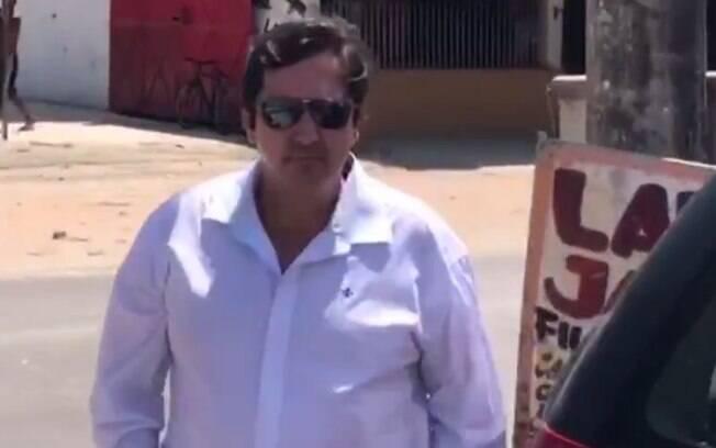 Fábio Tuffy Felippe se entregou à polícia, após cometer agressão contra esposa, no Rio de Janeiro