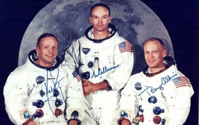 Na véspera do pouso, integrantes da missão tinham primeiro vislumbre da lua