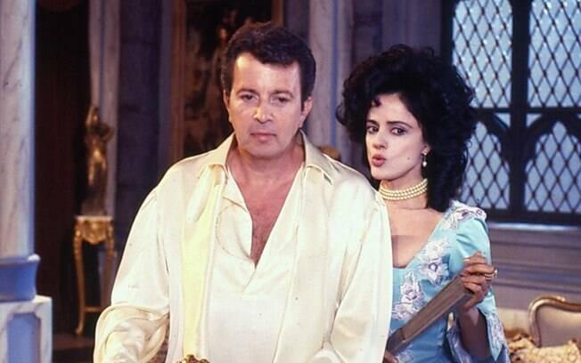 Daniel Filho e Marieta Severo tiveram papéis de destaque na trama medieval