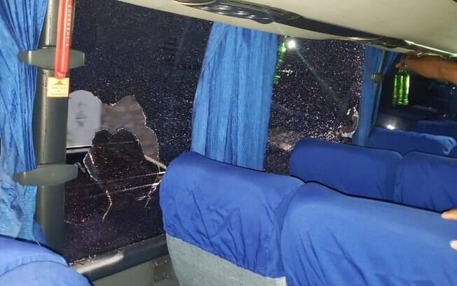 Ônibus do Motagua foi apedrejado antes do clássico hondurenho contra o Olimpia