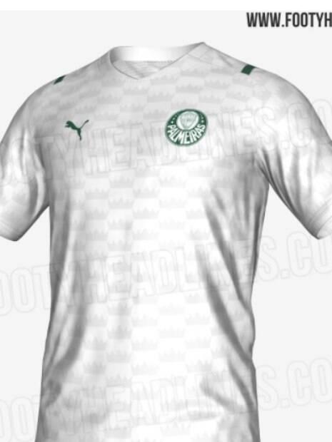 camisa número 2 do Palmeiras