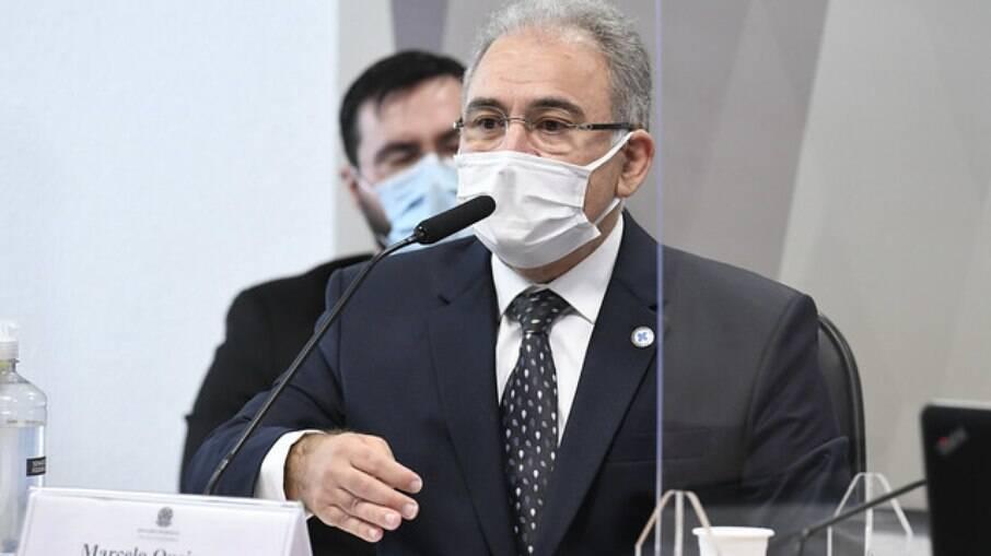 Marcelo Queiroga na CPI