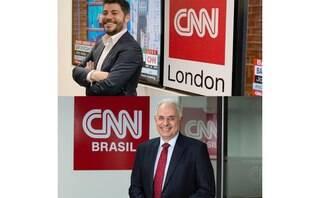 """Evaristo Costa mostra primeiro """"encontro"""" com Waack na CNN Brasil"""