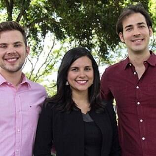 Os estudantes da UnB Thaís Queiroz, João Sigora e Guilherme Ávila concorrem a prêmio em Dubai