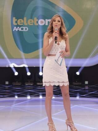 Ticiane Pinheiro participa do Teleton 2013 nesse sábado (26)