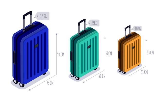A bagagem de mão não pode ultrapassar os 10 kg na maioria das companhias, com excessão da LATAM e da Delta