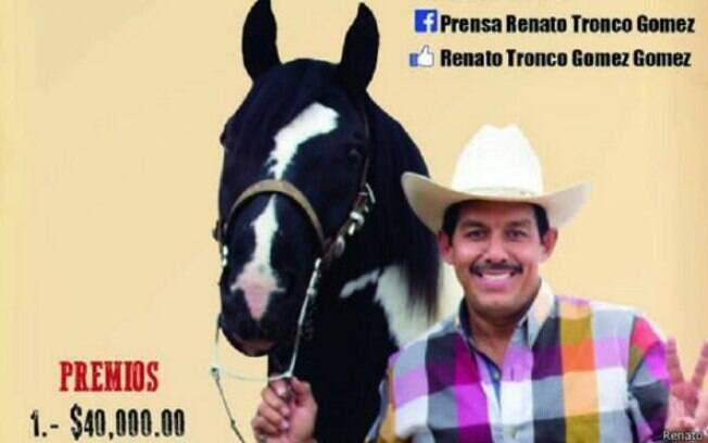 Político mexicano Renato Tronco, deputado de um distrito em Veracruz, diz ser um homem atarefado