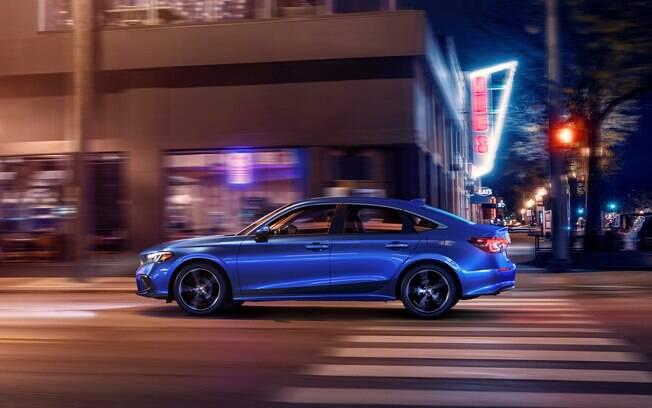 Novo Honda Civic 2022 começa a ser vendido nos EUA