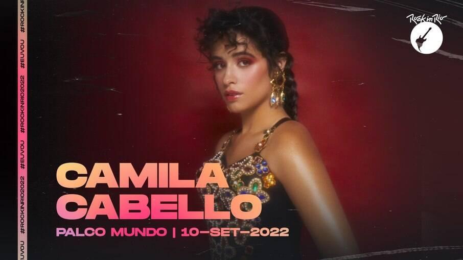 Camila Cabello estará no Rock in Rio