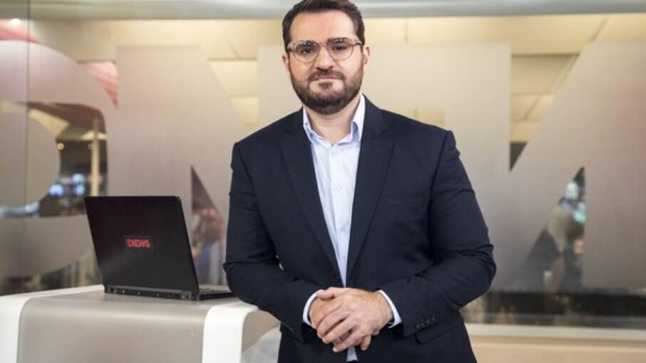 Jornalista da GloboNews homenageia Paulo Gustavo