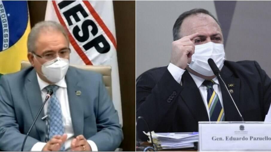 Queiroga e Pazuello serão reconvocados à CPI