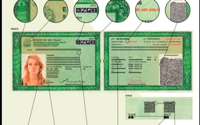 Novo modelo de RG começa a ser emitido no Estado de São Paulo