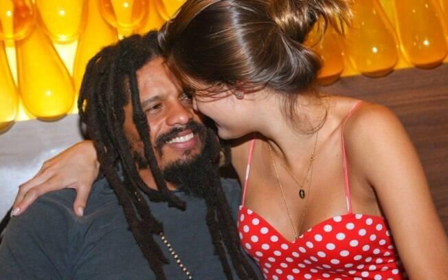 Isabeli Fontana e Rohan Marley: clima de intimidade