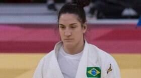 Judoca Mayra Aguiar perde para alemã e cai nas quartas