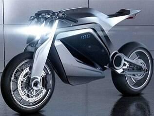 Audi vai lançar moto futurista