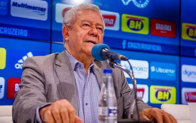 Presidente do Cruzeiro%2C José Dalai Rocha está com coronavírus
